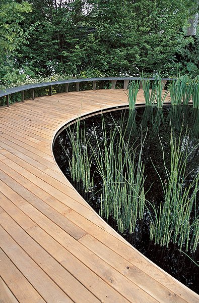деревянная терраса (фото 9)