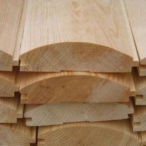 Блок-хаус - красивый и практичный обшивочный материал
