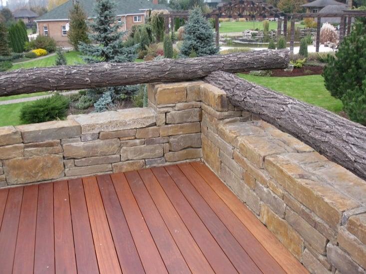 деревянная терраса (фото 7)