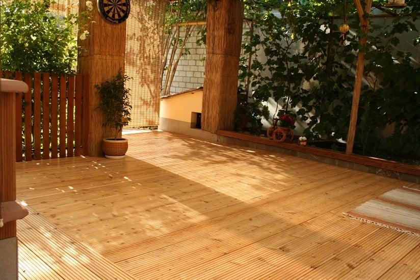 деревянная терраса (фото 6)