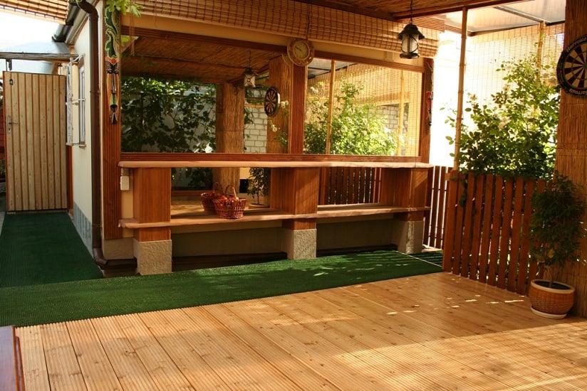 деревянная терраса (фото 1)