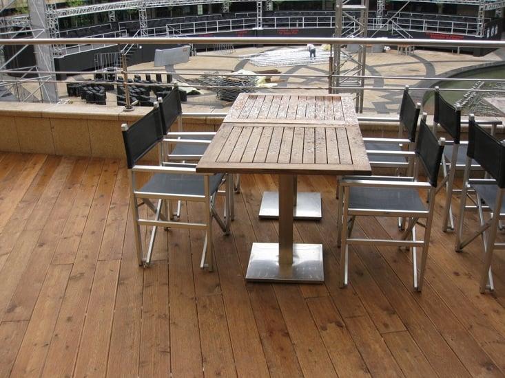 деревянная терраса (фото 4)