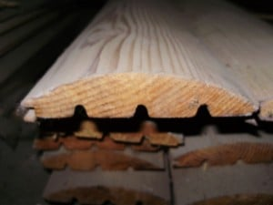 Блок-хаус лиственница высший сорт