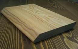 планкен лиственница скошенный