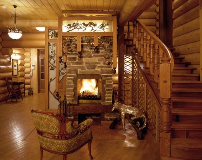 Деревянные дома красиво и экологично