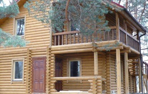 деревянные дома, бани, сауны