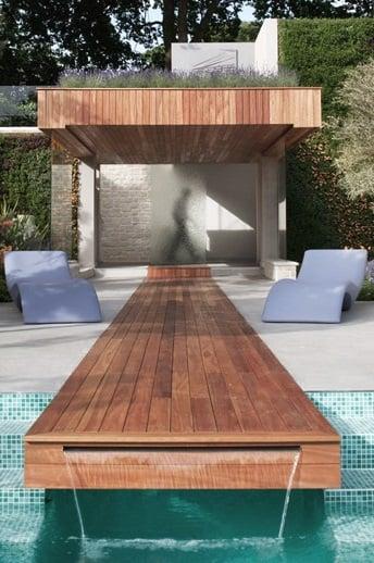 древесина тика для бассейна