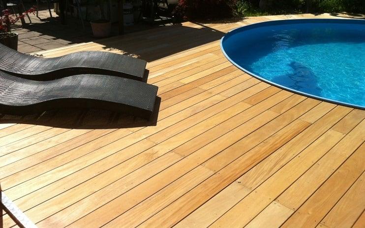 применение древесины гарапы на открытом воздухе