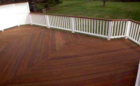 древесина ипе идеальна для террас